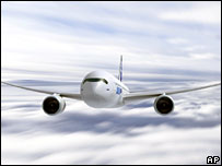An artist's impression of the A350