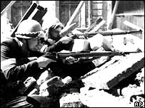Photo of Warsaw uprising