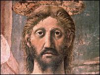 Jesucristo por Piero della Francesca