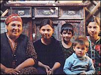 A Turkmen family
