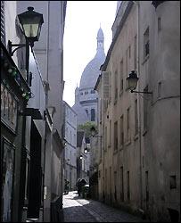 Una calle en Paris