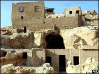 موقع حفريات في قرية قرنة