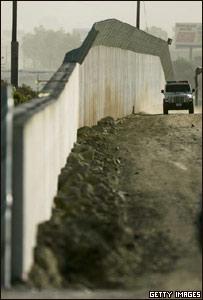 Muro entre M�xico y Estados Unidos
