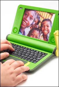 Concept design for One Laptop Per Child, OLPC