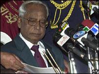 President Iajuddin Ahmed