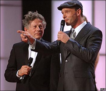 Roman Polanski and Thomas Kretschmann