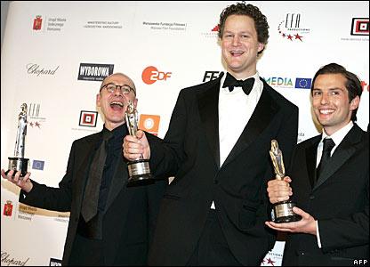 Ulrich Muehe, Florian Henckel von Donnersmarck and Qvirin Berg