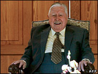 Chile's former military leader Augusto Pinochet died in hospital aged 91.