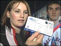 Cardiff Devils fan