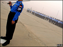 New Iraqi police recruits