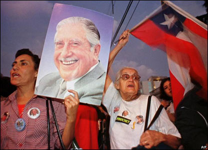 Seguidores de Pinochet