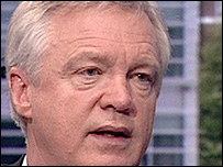 The Shadow Home Secretary, David Davis