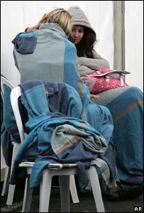 Stranded passengers