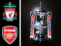 Liverpool face Arsenal in the FA Cup