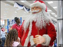 Father Christmas impostor in Kenya
