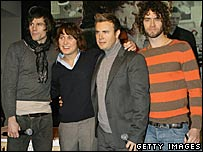 Jason Orange, Mark Owen, Gary Barlow and Howard Donald