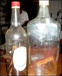 Botellas de Pilolo Atómico