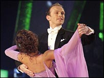 Matt Dawson and dance partner Lilia Kopylova