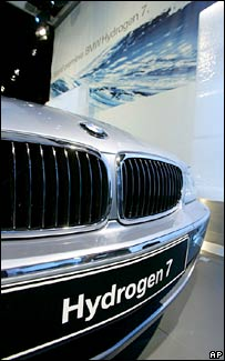 Hydrogen car. Image: AP
