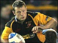Dragons captain and full-back Kevin Morgan