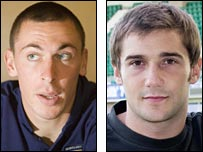 Scott Brown and Kevin Thomson