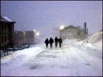 Barentsburg street
