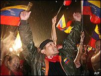 Celebraci�n chavista