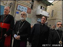 Archbishop of Westminster, Archbishop of Canterbury, the Reverend David Coffey, Bishop Nathan Hovhannisian