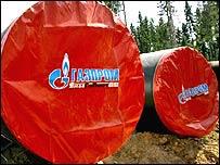 Gasoductos de Gazprom