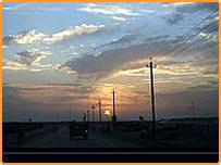 طريق خارج بغداد