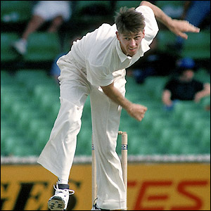 Glenn McGrath makes a slow but steady start to his Test match career joining an already successful team