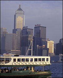 Hong Kong's Star Ferry - picture by Kees Metselaar