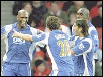 Portsmouth defender Noe Pamarot