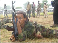 Somali Islamic fighter