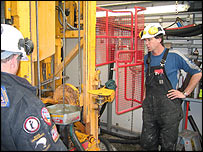 Drillers at work   Image: Tim Naish