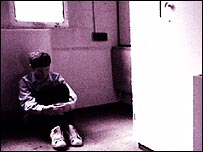 Reconstruction: child in prison