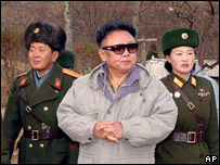 North Korean President Kim Jong-il