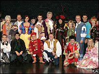 Some of the actors who are taking part in panto this year