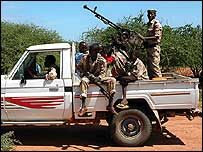 Somalia transitional government troops