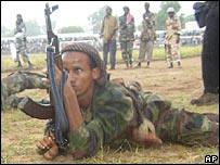 Somali Islamic militiamen