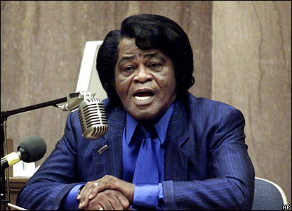 James Brown in court in 2002