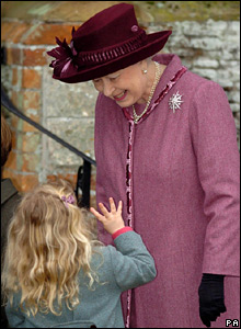 The Queen and her great-niece Margarita Armstrong-Jones