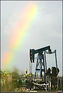 Pozo petrolero en Venezuela
