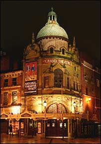 Blackpool's Grand Theatre - picture courtesy of the theatre
