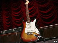 Hendrix's guitar