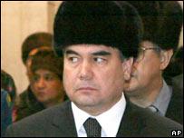 Gurbanguly Berdymukhamedov. File photo