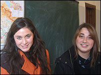 Students at Tbilisi school