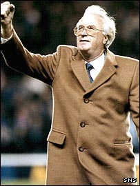 Former Rangers manager Jock Wallace