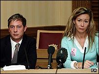 Parents Neil Shepherd and Sharon Wood