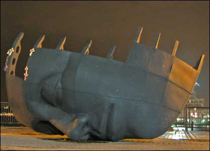 Merchant Seafarers War Memorial, Cardiff Bay (Terry Winter, Caldicot)